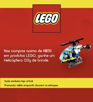 Lego com brinde