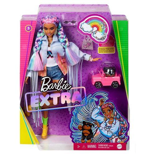 GRN27-GRN29-Boneca-Barbie-Extra-Trancas-De-Arco-Iris-Mattel-2