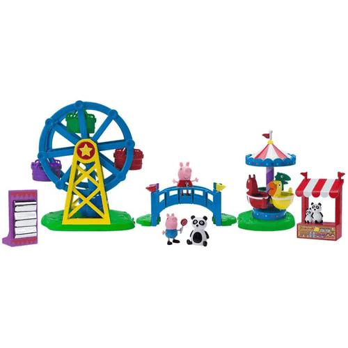 2326-Playset-com-Mini-Figura-Peppa-Pig-Parque-de-Diversao-Sunny-2