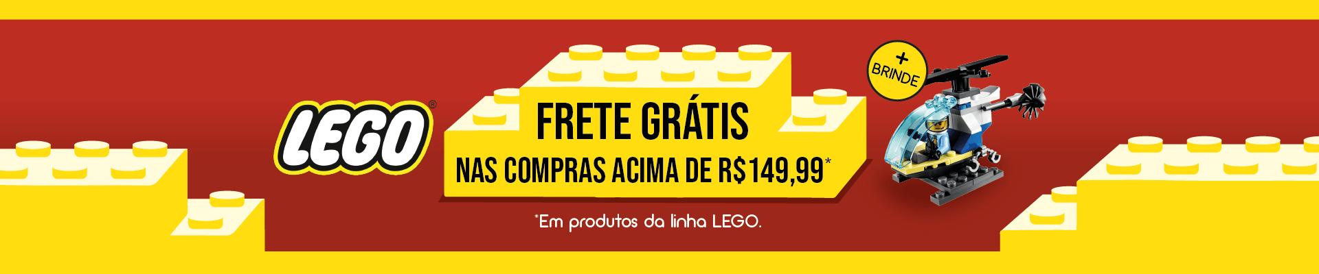 LEGO Frete Grátis