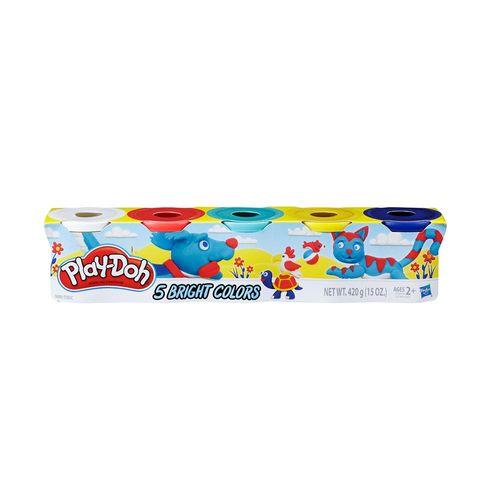 E5369-Massa-de-Modelar-Play-Doh-Cores-Brilhantes-5-Potes-Sortidos-Hasbro-1