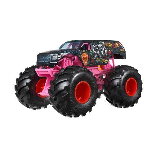FYJ83-Carrinho-Hot-Wheels-Monster-Trucks-124-Camion-de-Los-Muertos-Mattel-1