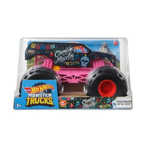 FYJ83-Carrinho-Hot-Wheels-Monster-Trucks-124-Camion-de-Los-Muertos-Mattel-2