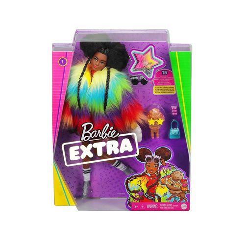GRN27-Boneca-Barbie-Extra-Negra-com-Casaco-Arco-Iris-Mattel-2
