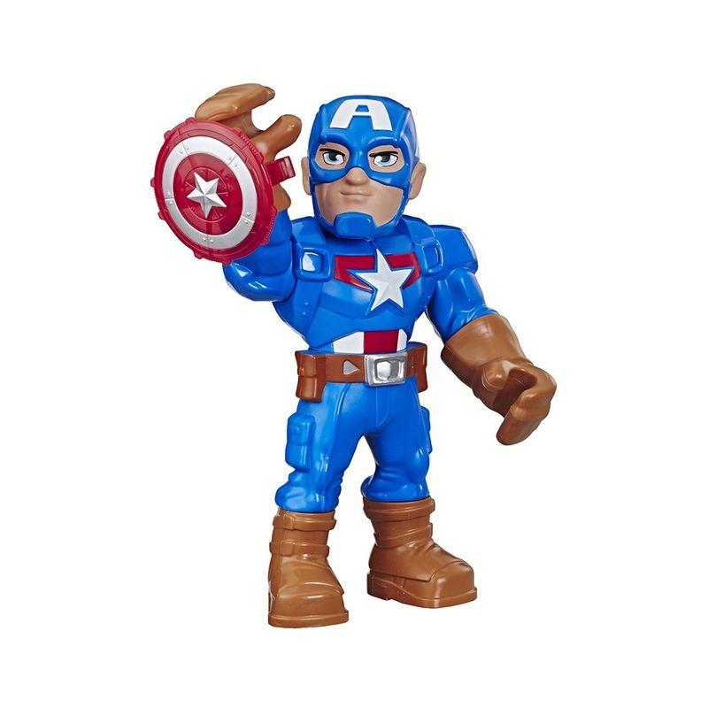 E7105-Boneco-Articulado-Mega-Mighties-Capitao-America-Vingadores-Hasbro-1