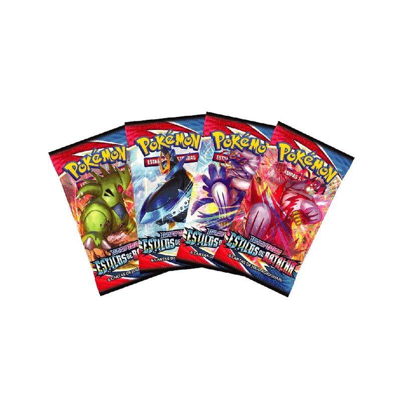 88823-Sache-Cartas-Pokemon-Espada-e-Escudo-Estilos-de-Batalha-Unitario-e-Sortido-Copag