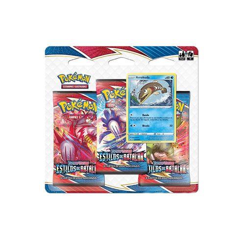 88835-Jogos-de-Cartas-Pokemon-Blister-Triplo-Espada-e-Escudo-Estilos-de-Batalha-Sortido-e-Unitario-Copag-2