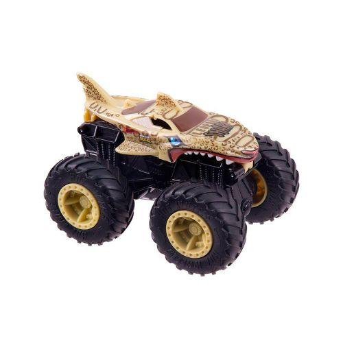 GWT02-Carrinho-Hot-Wheels-1-43-Monster-Trucks-Shark-Wreak-Leopard-Bash-Ups-Mattel-3