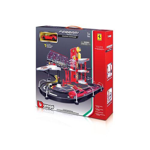 19-30197-Playset-Ferrari-Race-and-Play-Garagem-de-Corrida-Burago-2