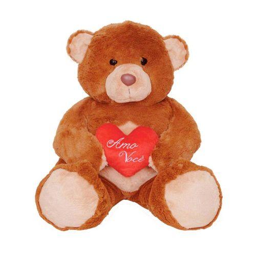 1471-Urso-de-Pelucia-Amo-Voce-40-cm-Lovely-Toys