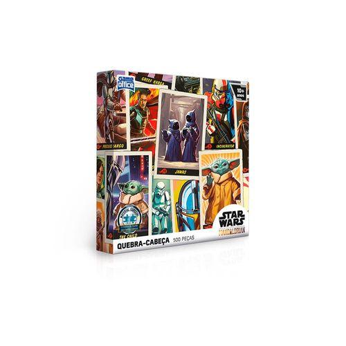 2794-Quebra-Cabeca-Star-Wars-The-Mandalorian-500-pecas-Edicao-Especial-Toyster-1