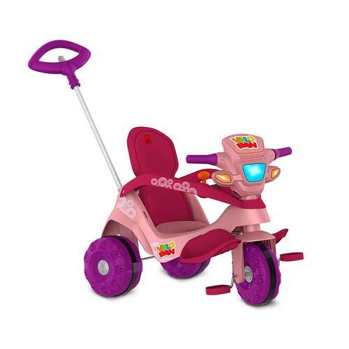 352-Mini-Veiculo-de-Passeio-com-Pedal-com-Acento-Reclinavel-Rosa-Bandeirante-1
