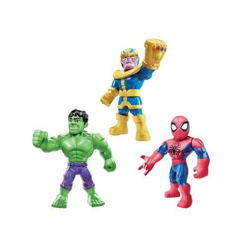 E7772-Conjunto-com-3-Figuras-Articuladas-Mega-Mighties-Hulk-Homem-Aranha-e-Thanos-Vingadores-Marvel-Hasbro-8