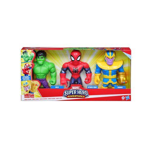 E7772-Conjunto-com-3-Figuras-Articuladas-Mega-Mighties-Hulk-Homem-Aranha-e-Thanos-Vingadores-Marvel-Hasbro-10