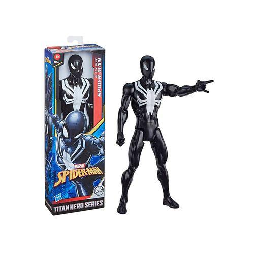 E8523-Figura-Articulada-Homem-Aranha-Traje-Preto-Titan-Hero-Vingadores-Marvel-Hasbro-1