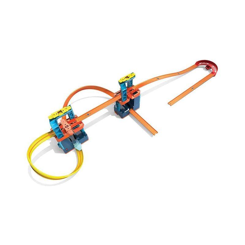 GLC97-Pista-Hot-Wheels-com-1-Carrinho-Track-Builder-Unlimited-Super-Impulso-Mattel-6