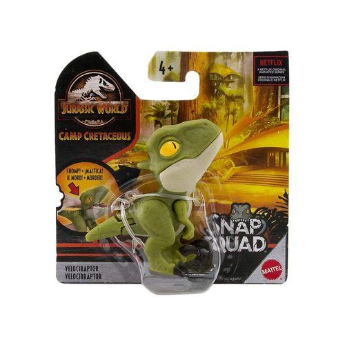 GGN26-HBX41-Mini-Figura-Colecionavel-Jurassic-World-Snap-Squad-Velociraptor-Mattel-1