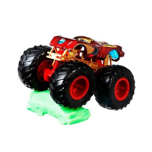 FYJ44-Carrinho-Hot-Wheels-Monster-Truck-Iron-Man-Marvel-Mattel-2