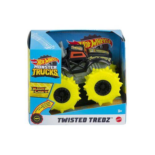 GVK37-Carrinho-Hot-Wheels-143-Monster-Trucks-Twisted-Tredz-Ragin-Cage-n-Mattel