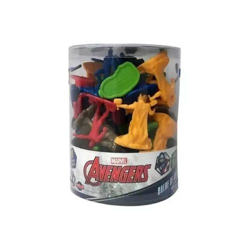 28423-Balde-com-40-Mini-Figuras-Vingadores-Marvel-Toyng-2