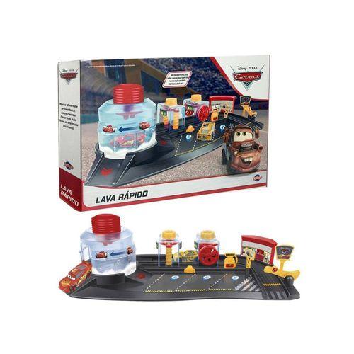 40886-Playset-com-2-Carrinhos-Carros-3-Lava-Rapido-Disney-Toyng-1
