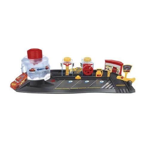 40886-Playset-com-2-Carrinhos-Carros-3-Lava-Rapido-Disney-Toyng-2