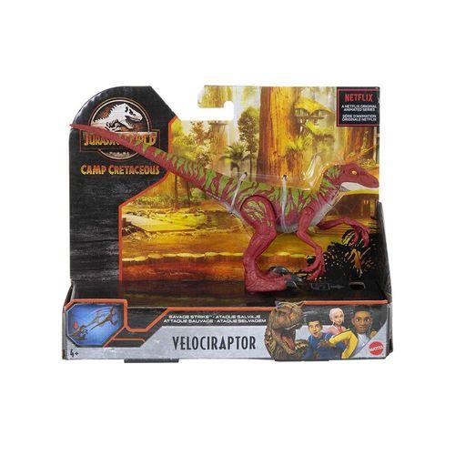 GCR54-HBX31-Figura-Dinossauro-Velociraptor-Ataque-Selvagem-Jurassic-World-Mattel-6