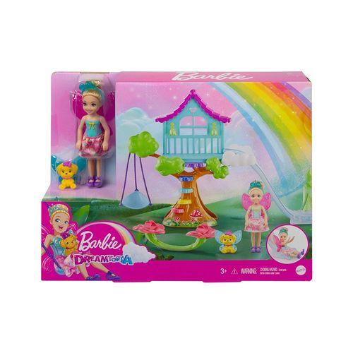 GTF49-Playset-e-Boneca-Barbie-Dreamtopia-Chelsea-Casa-na-Arvore-Mattel-5