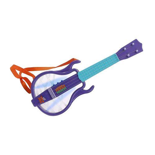 F0005-5-Guitarra-Musical-Infantil-com-Luzes-Power-Rockers-Fun-2