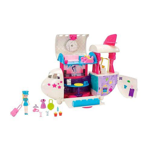 GKL62-Playset-Polly-Pocket-Jatinho-Fabuluso-Mattel-1