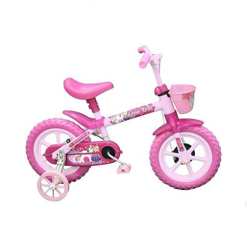TRBARCOIRIS-P-Bicicleta-Infantil-Aro-12-Arco-Iris-Rosa-Track-3