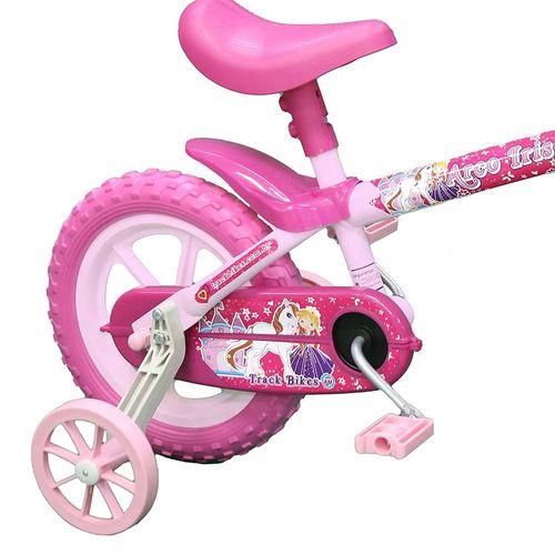 TRBARCOIRIS-P-Bicicleta-Infantil-Aro-12-Arco-Iris-Rosa-Track-4