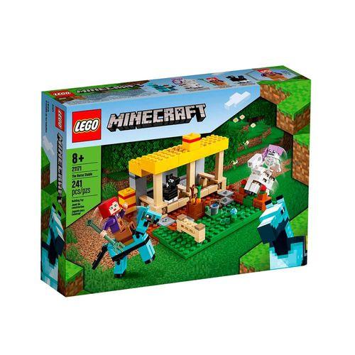 21171-LEGO-Minecraft-O-Estabulo-de-Cavalos-21171-1