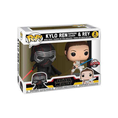 11524-Funk-Pop--Star-Wars-Kylo-Ren-Supreme-Leader-e-Rey-Ascensao-Skywalker-2Pack-308-e-307-1