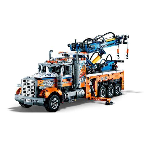 LEGO-Technic-Caminhao-Rebocador-de-Carga-Pesada-42128-2