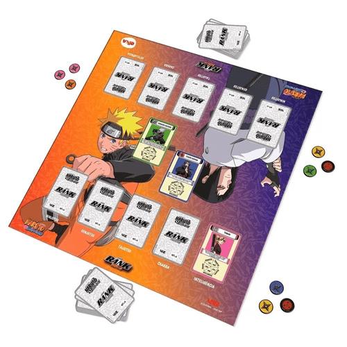 Jogo-de-Tabuleiro-Rank-Ninja-Naruto-Shippuden-Elka-2