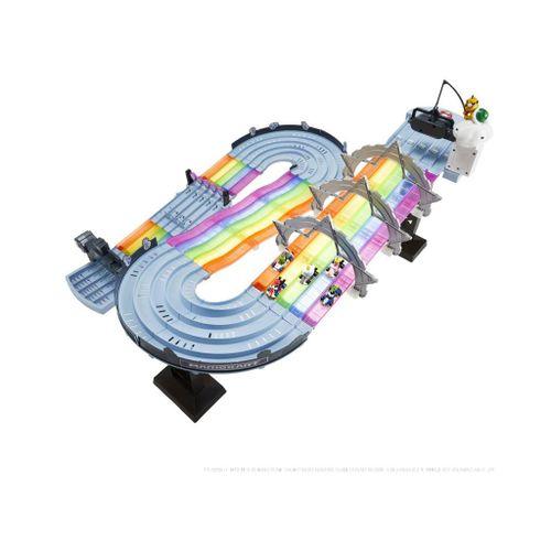 Pista-Hot-Wheels-Mario-Kart-Rainbow-Road-Mattel-MATGXX41-4