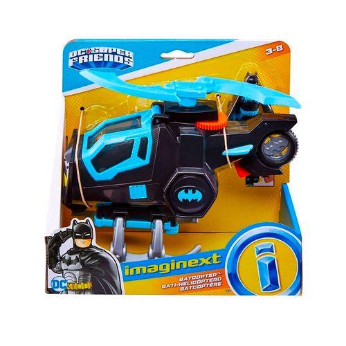 GYC72-Imaginext-DC-Super-Amigos-Batcopter-Bat-Tech-Fisher-Price