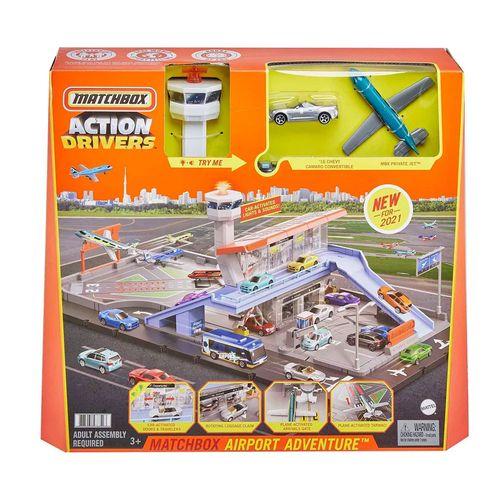 Pista-Matchbox-Conjunto-Action-Drivers-Airport-Adventure-Mattel-1