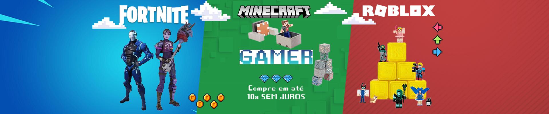 Patrulha Minecraft - Roblox - Fortnite