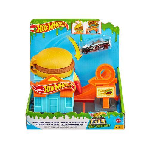 GJK73-Pista-Hot-Wheels-City-Loja-de-Hamburguer-Mattel-1