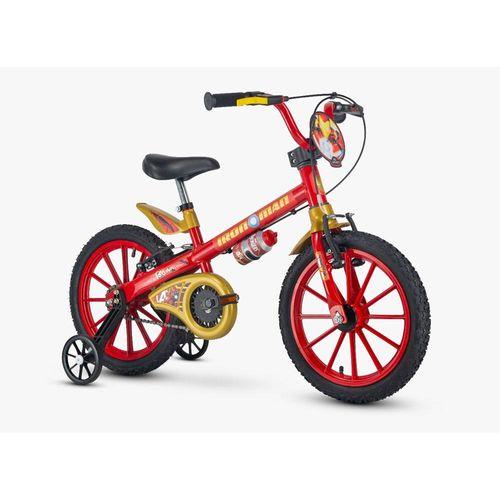 101250160002-Bicicleta-Infantil-Aro-16-Homem-de-Ferro-Marvel-Nathor